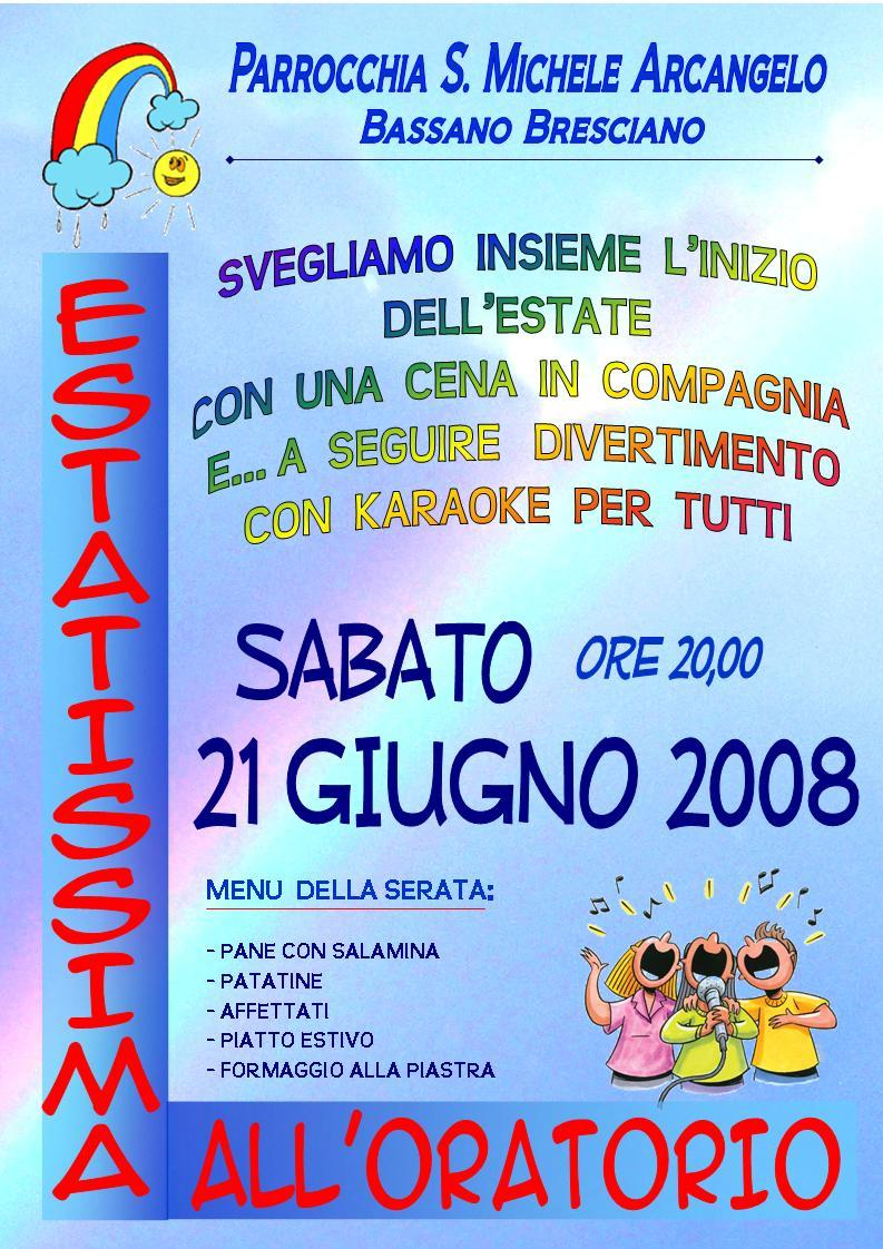 Estatissima 21 giugno 2008