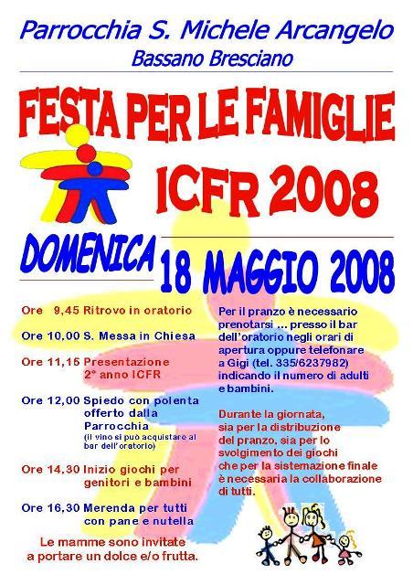 Festa  finale ICFR primo anno